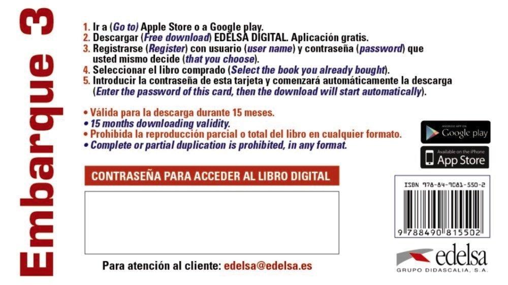 Embarque 3 - tarjeta app alumno Métodos - Jóvenes Y Adultos ...