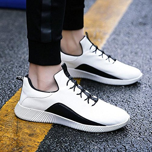 Leisure Colours Men's CN40 Shoes UK6 and 5 Spring White Movement Tide Feifei Size Shoes EU39 2 Color Autumn w1wxU