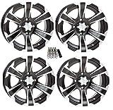 ITP SS312 ATV Wheels/Rims Black 14'' Polaris RZR 1000 XP / Ranger 900 XP (4)