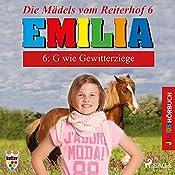 G wie Gewitterziege (Emilia - Die Mädels vom Reiterhof 6)   Karla Schniering