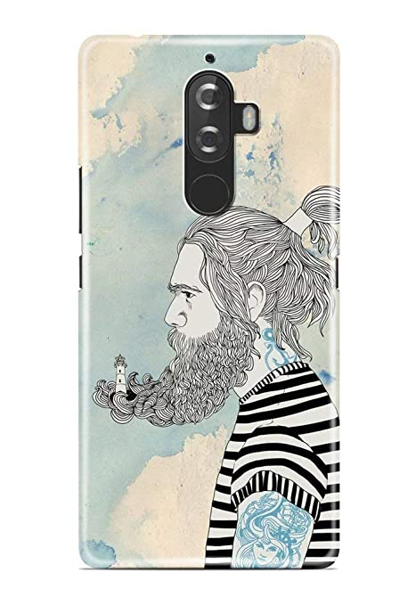 Knotyy DC-1252 Printed Back Cover for Lenovo K8 Plus: Amazon