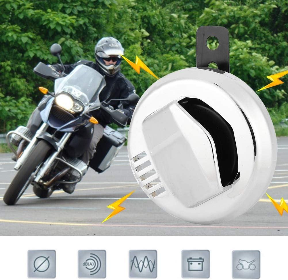 12V 2A 110dB Vintage Motorcycle Electric Horn Loudspeaker Super Loud Accessory Suuonee Motorcycle Horn