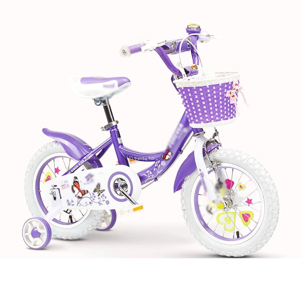 春のコレクション 自転車 自転車 子供の自転車の女の子2-3-4-6-7-8-9-10歳の赤ちゃんのペダル自転車の子供の赤ちゃんのキャリッジ 14 inch B07DYFYG2G B07DYFYG2G, Deckfree:0e3adada --- arianechie.dominiotemporario.com