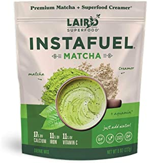 product image for Laird Superfood Instafuel Matcha Plus Creamer - Matcha Latte Green Tea Powder Packed with Antioxidants, 8oz Bag