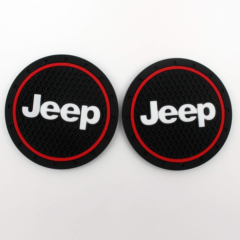 Car/Interior/Accessories/Anti/Slip/Cup/Mat,Jeep/Patriot/Accessories,Jeep/Grand/Cherokee/Accessories,Jeep/Renegade/Accessories 2.75/inch,2/Pcs/