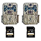 (2) Browning Recon Force BTC7FHD Digital Trail Game Camera (10MP) with Sony 16GB Memory Cards