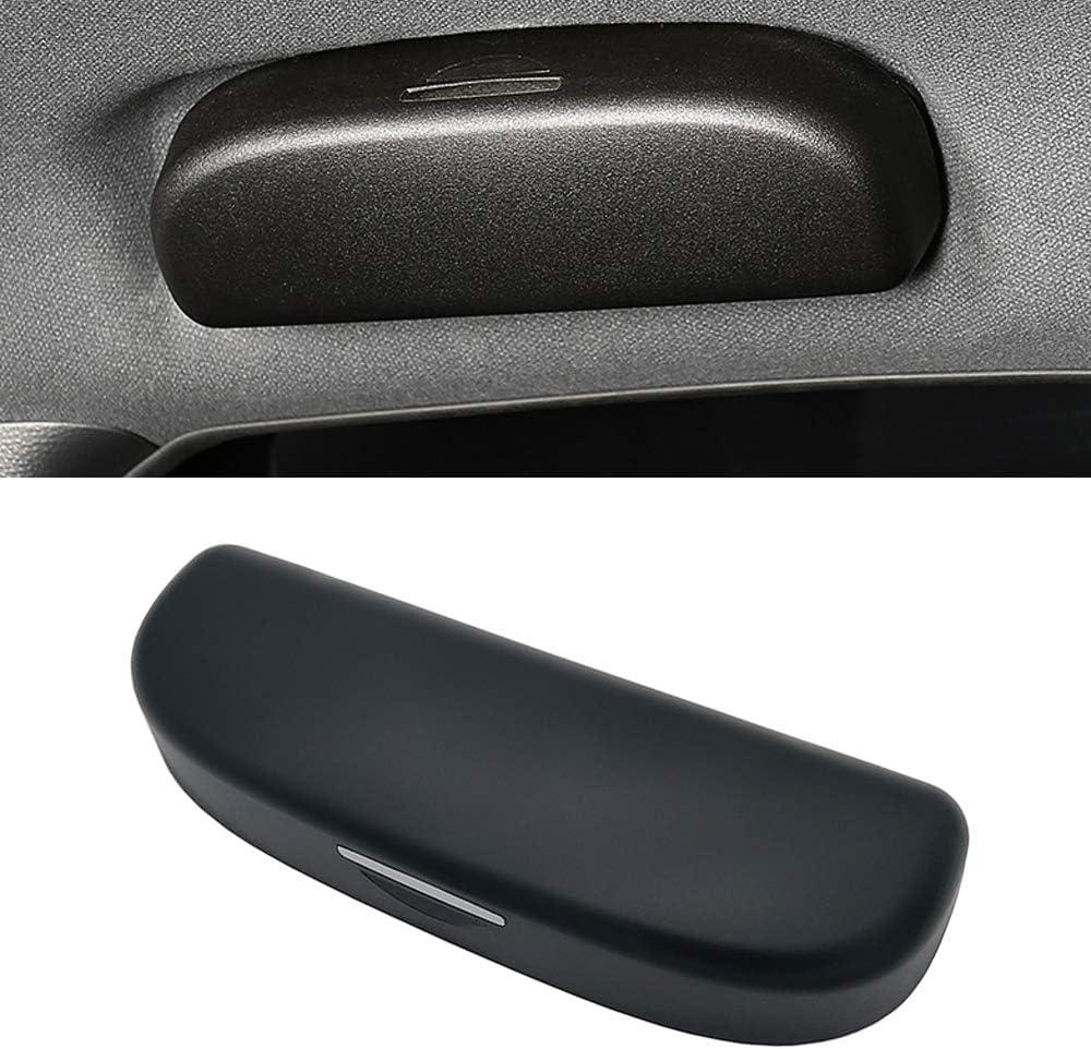 IIWOJ Auto Sonnenbrillenhalter Brillenetui Dreifarbig Optional Personalisierte Brillenetui Kompatibel Mit Au-Di A4 B8 B9 A3 8V 8P S3 A5 A6 C6 A7 Q3 Q5 Q7