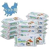 【Amazon.co.jp限定】 アイリスオーヤマ ポチウェットティッシュ ペット用 80枚×15袋 (ケース販売)