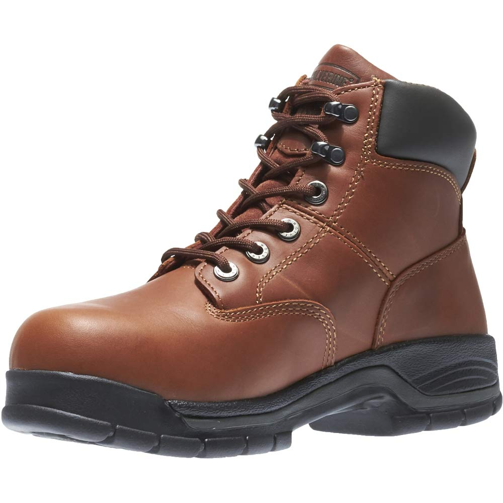 Wolverine Harrison Lace-Up 6 Work Boot Men 14 Brown