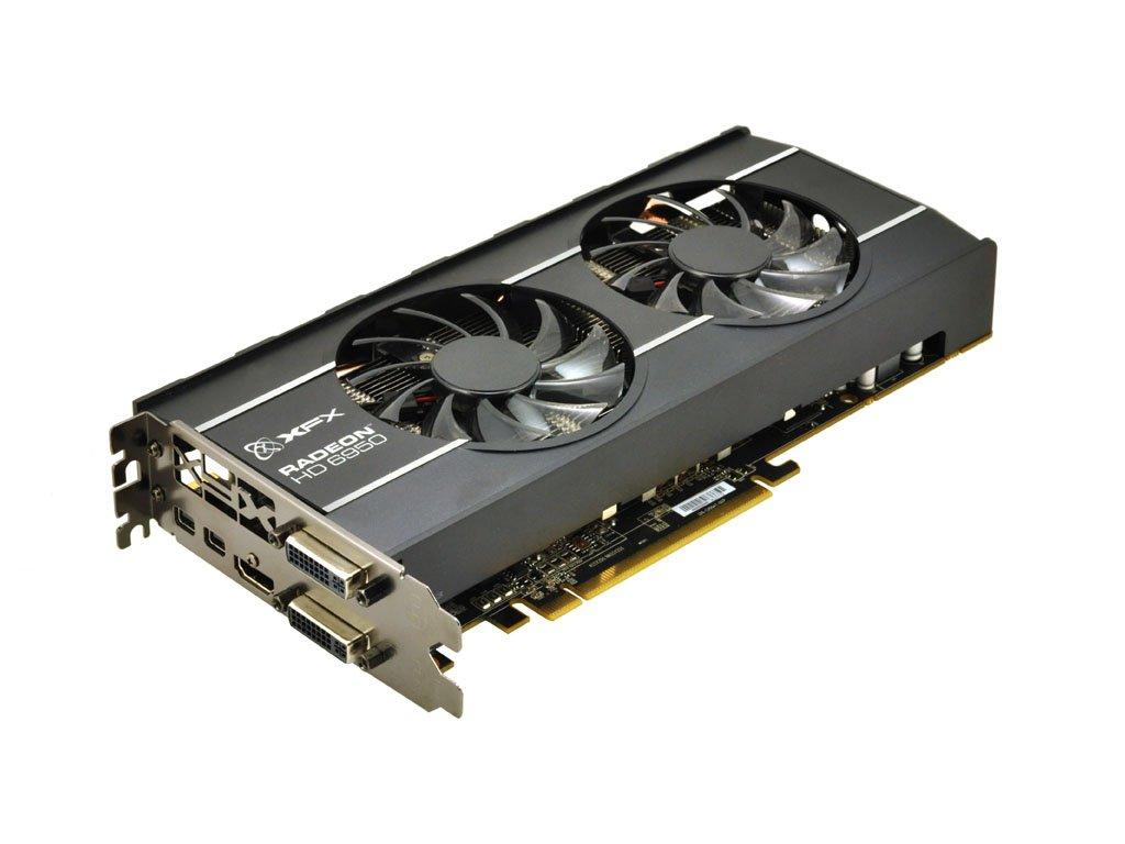 XFX ATI Radeon HD6950 1 GB DDR5 2DVI/HDMI/2x Mini-Displayport PCI-Express Video Card HD695XZDFC by XFX (Image #2)