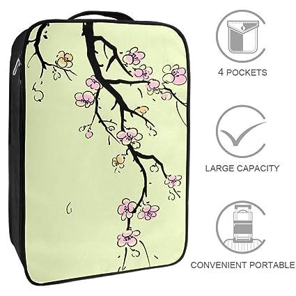 Bolsas de Viaje para Zapatos con diseño de Cerezo y Flores ...