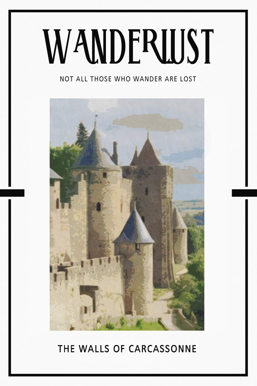 The Walls of Carcassonne: Trip Visit Souvenirs 2020 Planner Calendar Organizer Daily Weekly Monthly Idioma Inglés: Amazon.es: Books, DMS: Libros en idiomas extranjeros