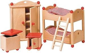 Goki Doll Furniture Kids Room (5 Piece)