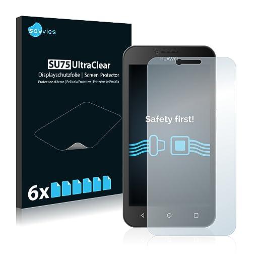 67 opinioni per 6x Savvies Pellicola Protettiva per Huawei Y5 Protezione Proteggi Schermo