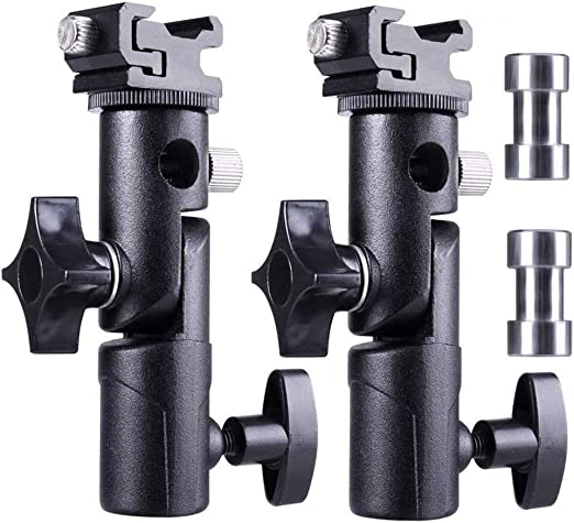 Aluminium Kamera Blitzschuh Schirmhalterung Blitzhalter Kamera