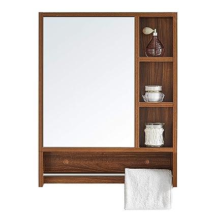Armoire de Miroir de Salle de Bains Miroir de Maquillage ...