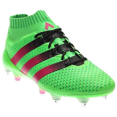 new style dc9a4 e1951 Amazon.com | adidas Mens Ace 16.1 Primeknit Sg Soccer ...