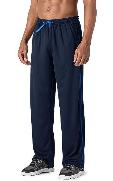 MAGCOMSEN Pantalones de chándal Hombre con Dobladillo Abierto ...