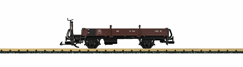 Märklin LGB 40121 - Niederbordwagen mit Bremserbühn