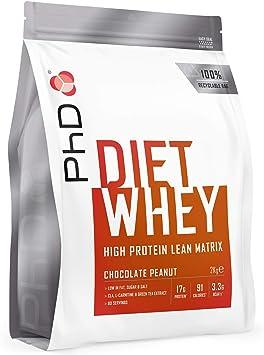 PhD Nutrition Proteína Whey, 80 Porciones, Proteína Magra En Polvo - Maní Chocolate 2Kg