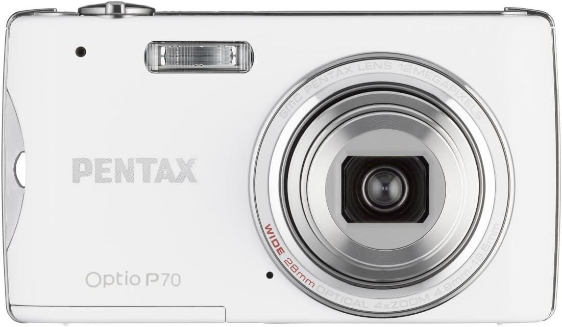 Pentax Optio P70 Digitalkamera 2 7 Zoll Weiß Kamera
