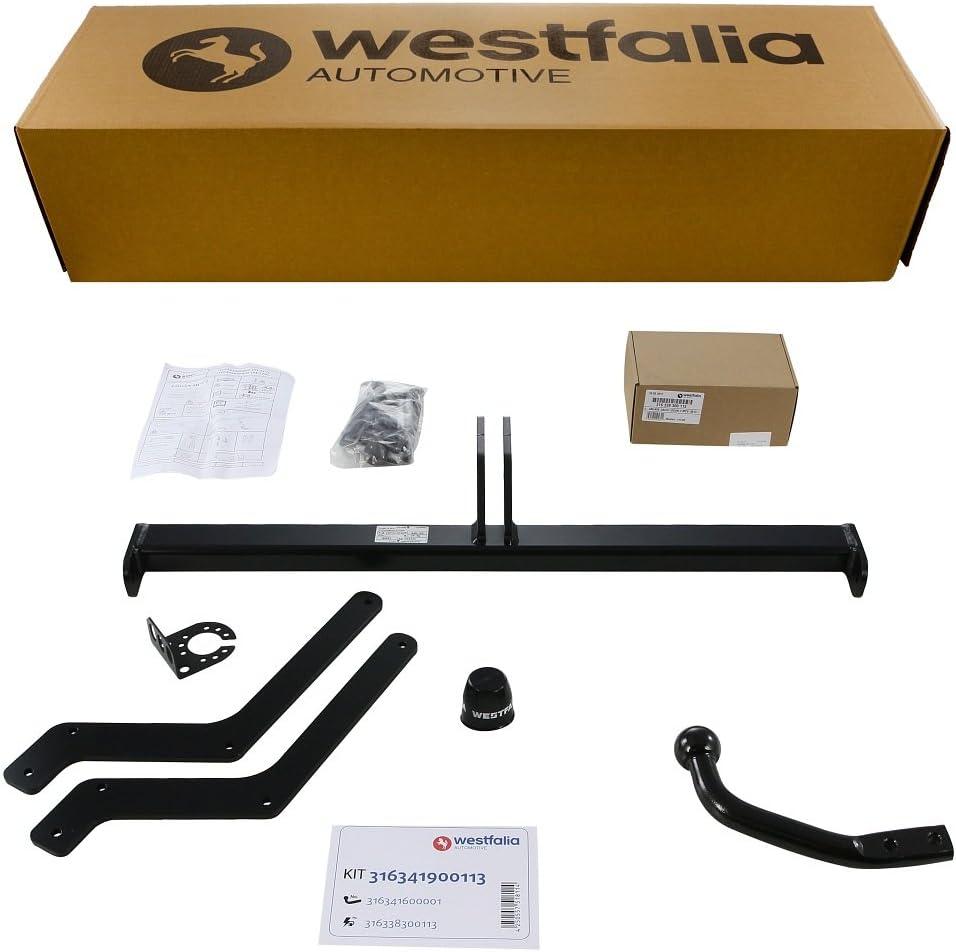 BJ ab 07//2013 Starre Westfalia Anh/ängerkupplung f/ür Logan MCV Kombi im Set mit 13-poligem fahrzeugspezifischen Westfalia Elektrosatz