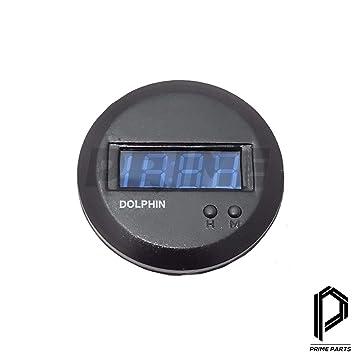 Jimny Samurai SJ410 413 Sierra Drover Reloj digital redondo: Amazon.es: Coche y moto