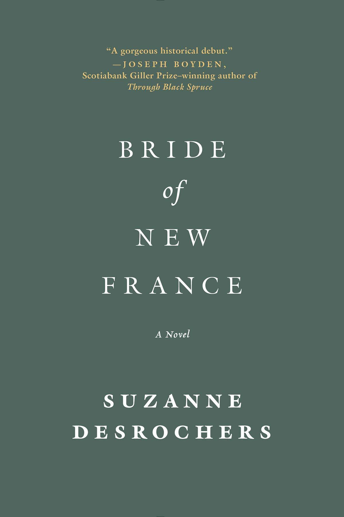 Bride of New France: A Novel: Suzanne Desrochers: 9780393345858:  Amazon.com: Books