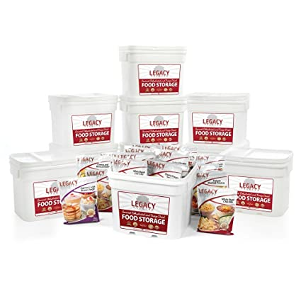 Freeze Dried Survival Food Storage 1080 Large Servings - 277 lbs - Emergency Disaster Preparedness  sc 1 st  Amazon.com : dehydrated food storage life  - Aquiesqueretaro.Com