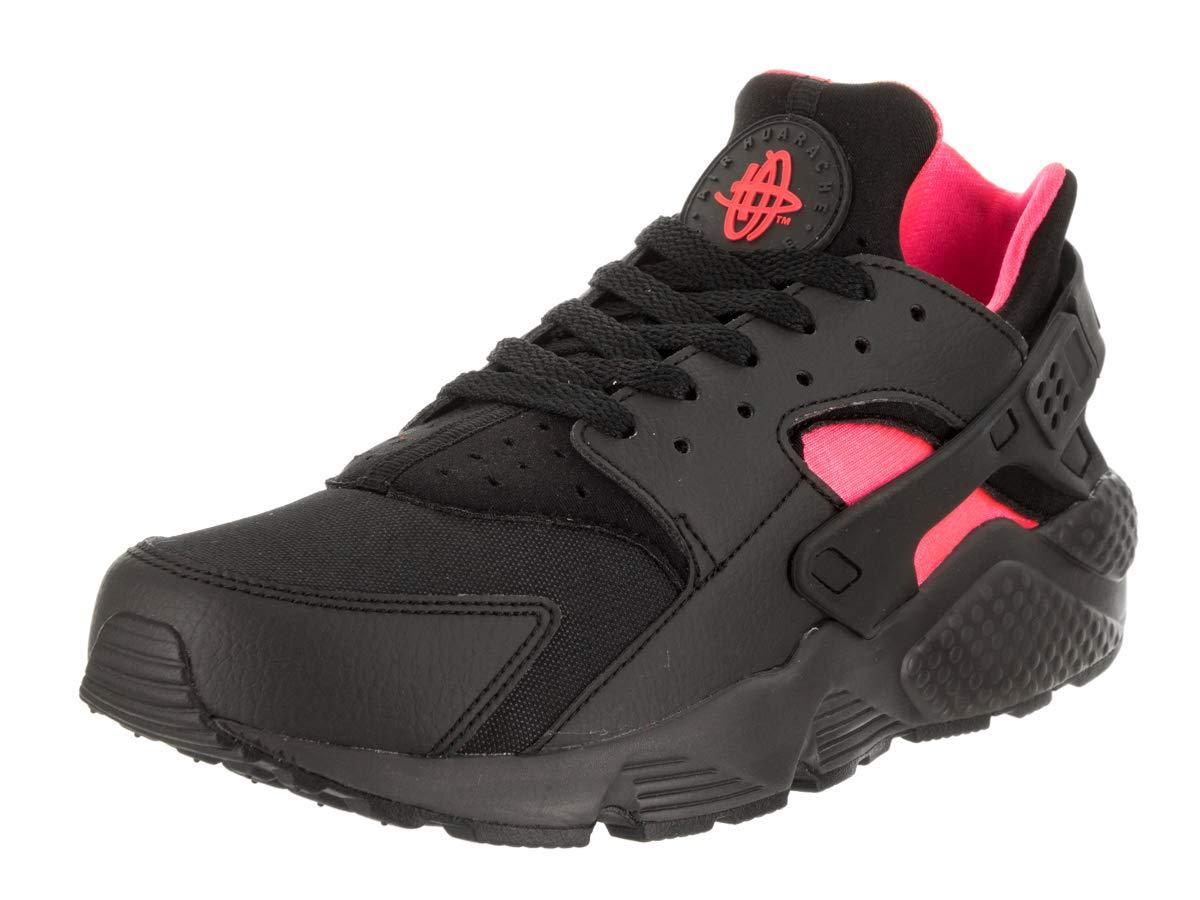 e33e08ba66c6a Galleon - NIKE Mens Air Huarache Running Shoes Black Anthracite Solar Red  318429-055 Size 11.5
