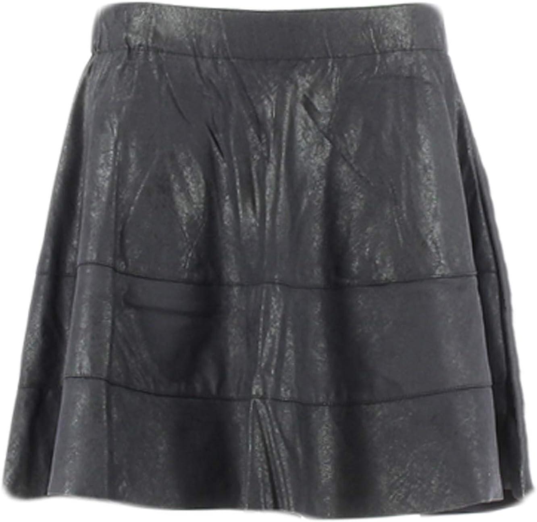 Solo Falda Negra en Piel sintética.: Amazon.es: Ropa y accesorios