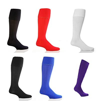 School Uniform Football Socks Unisex Youth Size 4-6 Soccer Hockey Rugby KneeHigh