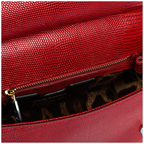 sicily amp; sac main à rouge Gabbana Dolce en femme cuir dqw684