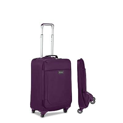 "Biaggi Leggero 22"" Foldable Spinner Carry On 70%OFF"