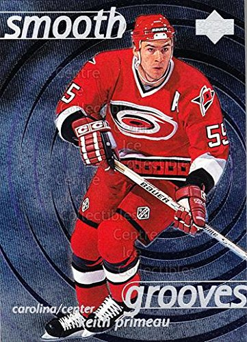 (CI) Keith Primeau Hockey Card 1997-98 Upper Deck Smooth Grooves 55 Keith - 55 Groove