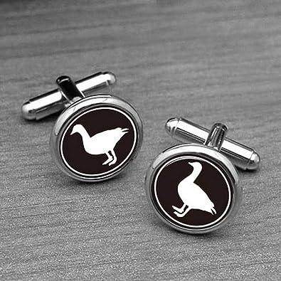chen jian xin Gemelos Silver Duck, diseño de pájaro de ganso ...