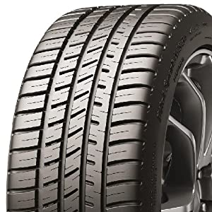 Michelin 69936 Pilot Sport A/S 3+ All-Season Radial Tire - 255/35ZR20 97Y