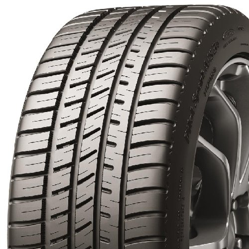 Michelin 17945 Pilot Sport A/S 3+ All-Season Radial Tire - 255/40ZR19 100Y