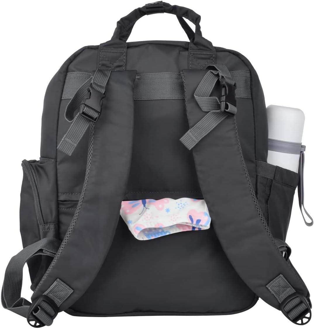 SUNSEATON Zaino Mamma Multifunzione Neonato Borsa con Materassino Fasciatoio Grande Capacit/à Zaino per Viaggiare Mamma Pap/à Tasche Isolanti Bottiglia