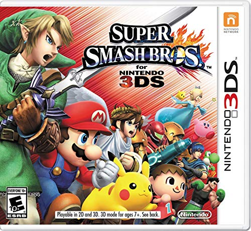 nintendo 3ds super smash bros - 3