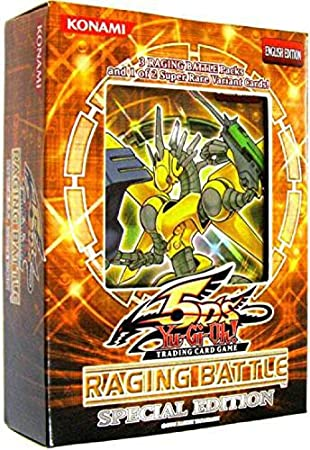YuGiOh 5Ds Raging Battle SE Special Edition Pack (Random Promo Card): Amazon.es: Juguetes y juegos
