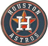 : Houston Astros Jewelry Logo Pin - Round