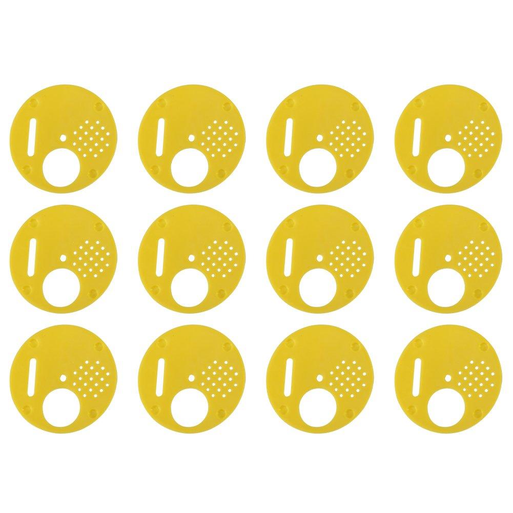 12 pcs en Plastique Abeille Porte D'entrée De Biscuits Abeille Abeille Ruche Nuc Boîte D'entrée Porte D'apiculture Outil Hilitand