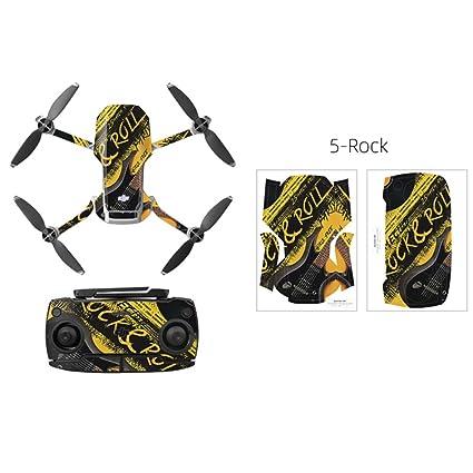 OUYAWEI - Carcasa de PVC para dji Mavic Mini Drone Body Arm y ...