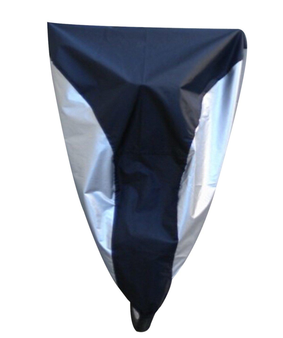 Natuworld S//M//L//XL Waterproof 180T Polyester Taffeta Bike Bicycle E-Bike Cover,Silver /& Black