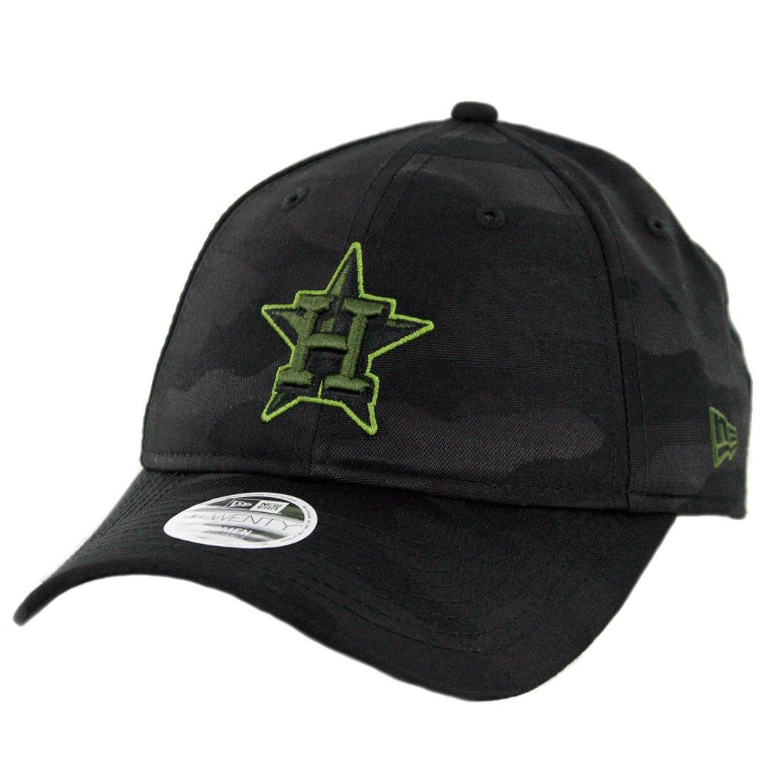 Amazon.com   New Era 9Twenty Houston Astros Women s Memorial Day 2018  Strapback Hat Dad Cap   Sports   Outdoors cedbee4754