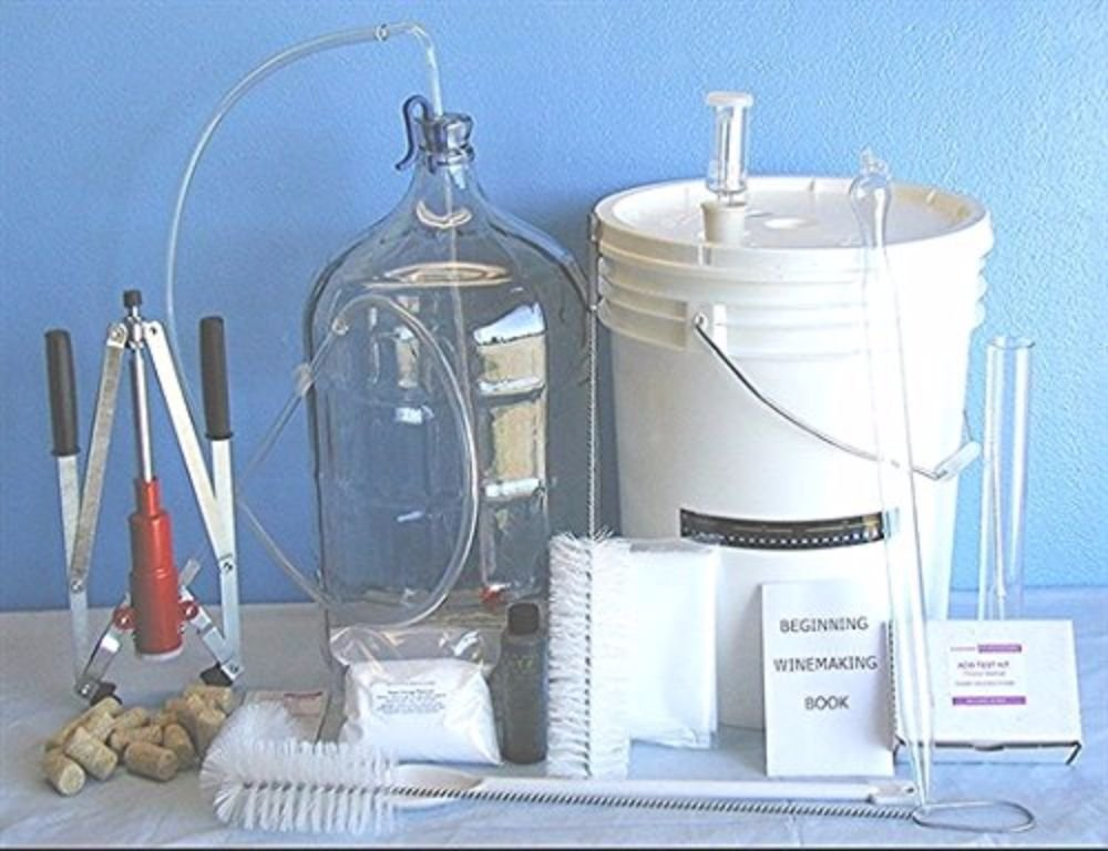 5 Gallon Fruit Wine Making Kit by Strange Brew Home-Brew