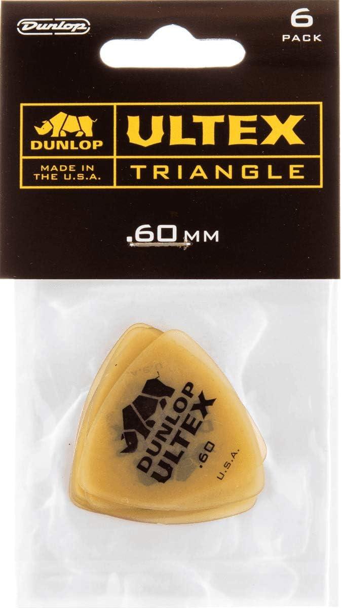 6 Pack Dunlop Ultex Tri .60mm
