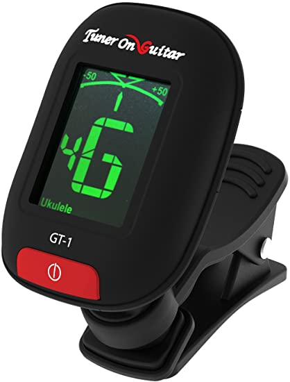 Clip On Guitar Tuner >> Amazon Com Tuner On Guitar Clip On Tuner For Guitars Ukulele Bass