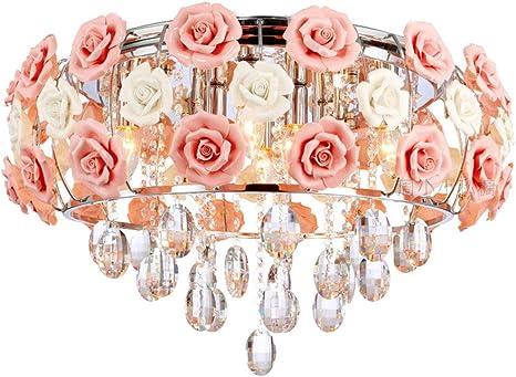Modern Glass Flower Chandelier Lamp Pendant Lighting Hanging Ceiling Fixtures
